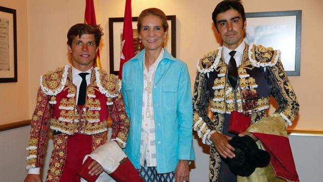 Prinzessin Elena von Spanien wird als Stargast an den Jubiläumsfeierlichkeiten teilnehmen. (Bild: APA/EPA/JuanJo Martin)