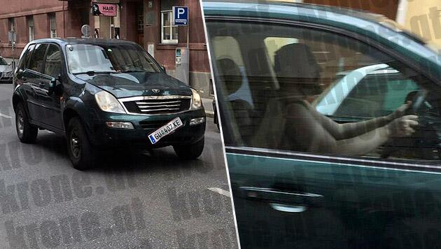 """Alen R. raste mit seinem Auto durch Graz, tötete drei Menschen und verletzte 36 teils schwer. (Bild: """"Krone"""")"""