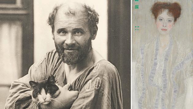 """Gustav Klimt malte Gertrud Loew 1902 im Auftrag ihres Vaters Anton. (Bild: Leopold Museum, APA/SOTHEBY""""S)"""