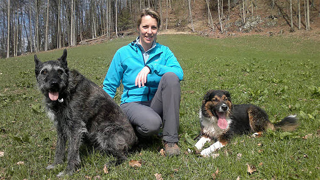Hundetrainerin Brigitte Kann (Bild: Brigitte Kann)