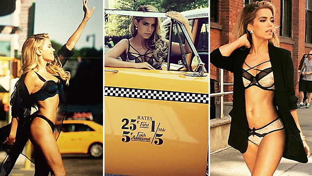 Sehr heiß, die Meis! Sylvie macht New York verrückt. (Bild: Viennareport)
