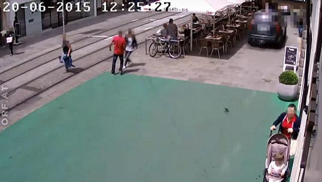 Todesfahrt von Graz: Erstes Video aufgetaucht (Bild: orf.at)