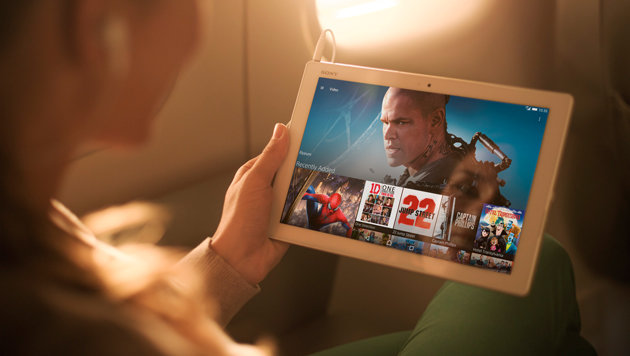 Xperia Tablet Z4: Das kann das neue Sony-Surfbrett (Bild: Sony)