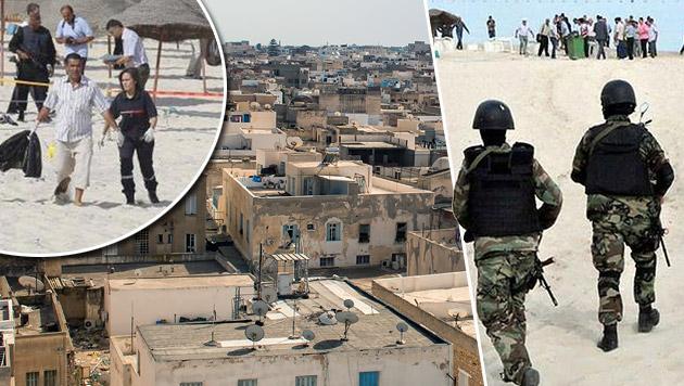 Hoffnungsträger Tunesien wurde Terroristen-Hotspot (Bild: thinkstockphotos.de, twitter.com/Terror_Monitor)