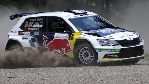 Baumschlager-Triumph bei Schneebergland-Rallye (Bild: GEPA)