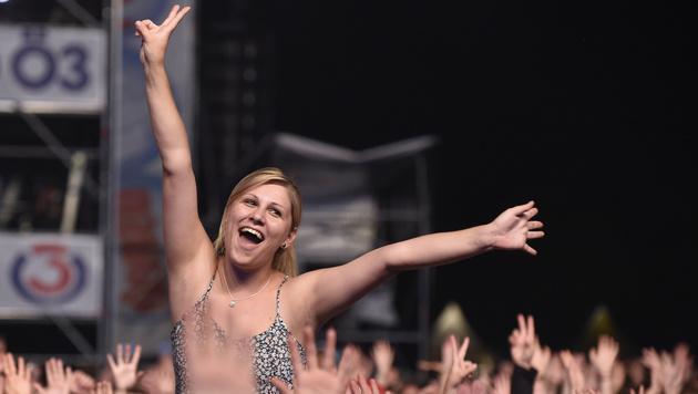 Donauinselfest: Anastacia und Co. rockten Bühne (Bild: APA/HERBERT P. OCZERET)