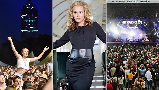 Rekord: 3,3 Millionen Fans stürmten Donauinselfest (Bild: APA/HERBERT P. OCZERET, Ralf Strathmann)