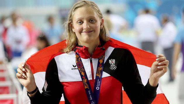 Schwimmerin Pilhatsch holt 13. ÖOC-Medaille (Bild: GEPA)