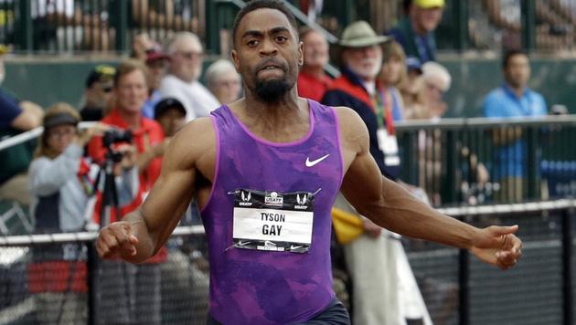 Tyson Gay sprintet in 9,87 Sekunden zum US-Titel