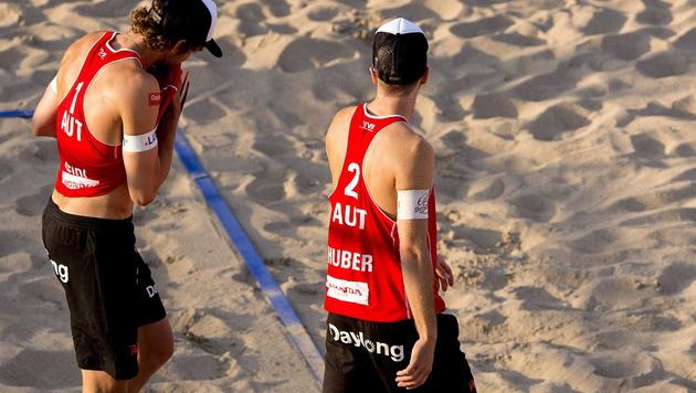 Doppler/Horst gewinnen zweites Gruppenspiel (Bild: APA/EPA/KOEN VAN WEEL)