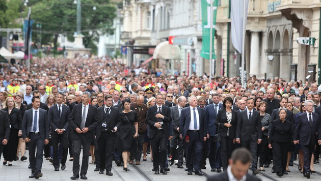 12.000 Menschen kamen im Vorjahr zum Grazer Trauermarsch. (Bild: Sepp Pail)