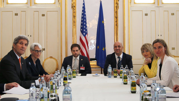 Iran-Atomgespräche über 30. Juni hinaus verlängert (Bild: AP)