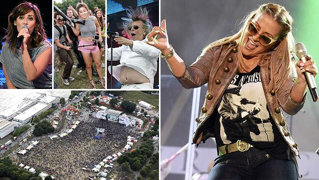 Rekord: 3,3 Millionen Fans stürmten Donauinselfest (Bild: APA/HERBERT P. OCZERET)