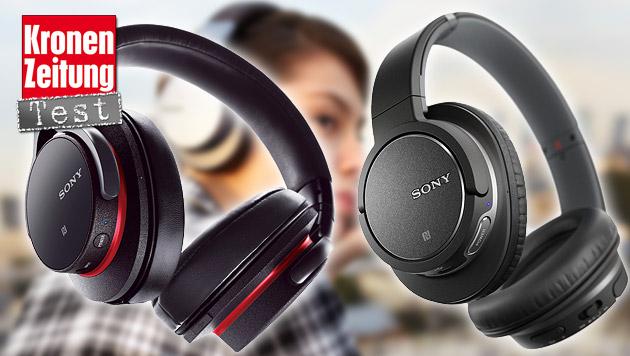 Bluetooth-Kopfhörer von Sony im krone.at-Test (Bild: Sony)