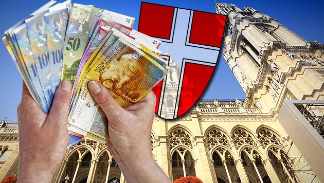 Euro geschwächt: Sorge um Wiens Frankenkredite (Bild: thinkstockphotos.de)