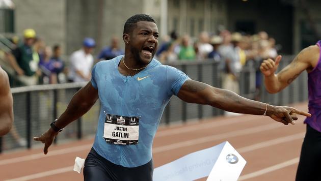 Gatlin unterstreicht seine Top-Form über 200 m (Bild: AP)