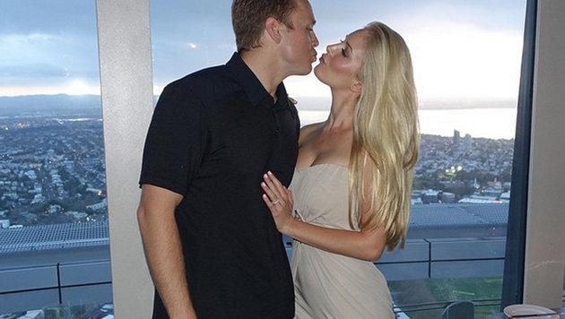 Heidi und Spencer Pratt beim Kuss. Die Mehrheit der Männer kann sich Sex ohne Küssen vorstellen. (Bild: Viennareport)