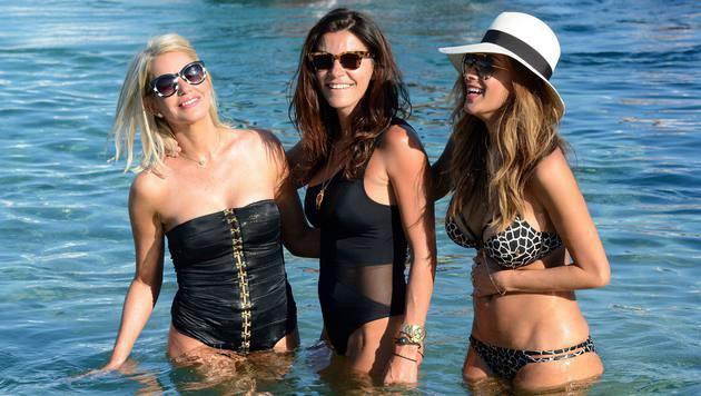 Ihren Geburtstag feiert Nicole Scherzinger mit ihren Freundinnen. (Bild: Viennareport)