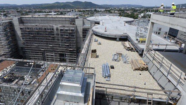 Hier entsteht das neue Wiener Krankenhaus Nord. (Bild: APA/ROBERT JAEGER)
