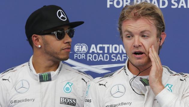 Hamilton: Keine Aussprache mit Rosberg! (Bild: APA/EPA/VALDRIN XHEMAJ)