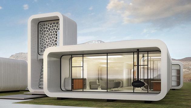 Dubai errichtet erstes Bürogebäude aus 3D-Drucker (Bild: Museum of the Future)
