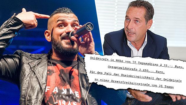 Nazar gegen Strache: Rapper geht in Berufung (Bild: Andreas Graf, Peter Tomschi)