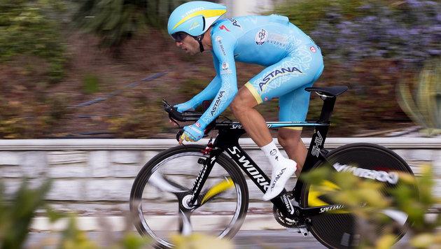 Vincenzo Nibali (Bild: APA/EPA/CLAUDIO PERI)
