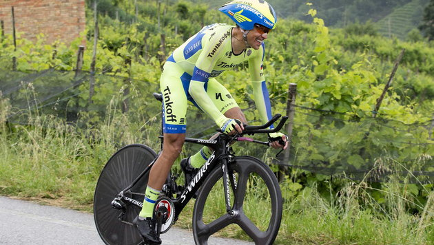 Alberto Contador (Bild: APA/EPA/CLAUDIO PERI)