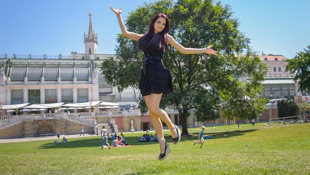 Die heißen Bilder: Neue Miss posiert fast nackt (Bild: Andreas Tischler)