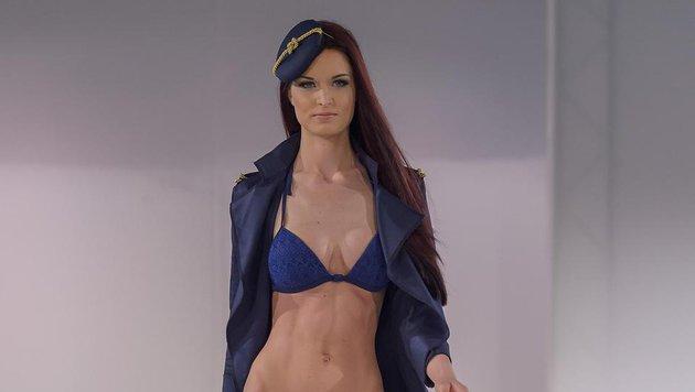 Annika Grill beim Bikini-Catwalk (Bild: Viennareport)