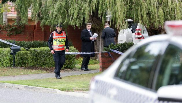 Australien: Football-Trainer von Sohn getötet (Bild: APA/EPA/RUSSELL MILLARD)