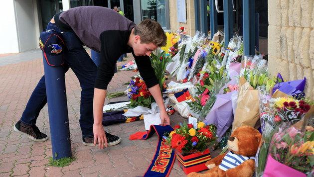 Australien: Football-Trainer von Sohn getötet (Bild: APA/EPA/JAMES ELSBY)
