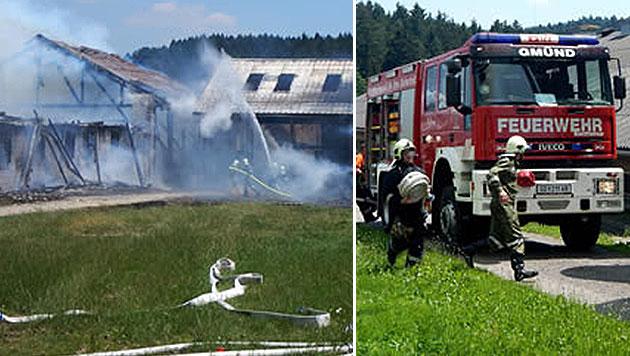 Feuerwehrmann erlitt nach Brandeinsatz Herztod (Bild: FF Gmünd)