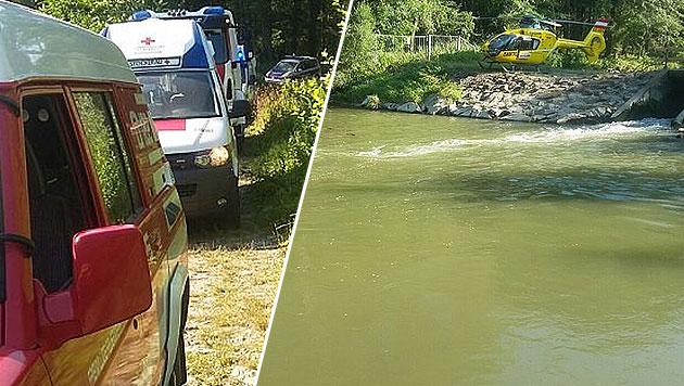 Drama in Donau: Mädchen gerettet, dann ertrunken (Bild: FF Stockerau)