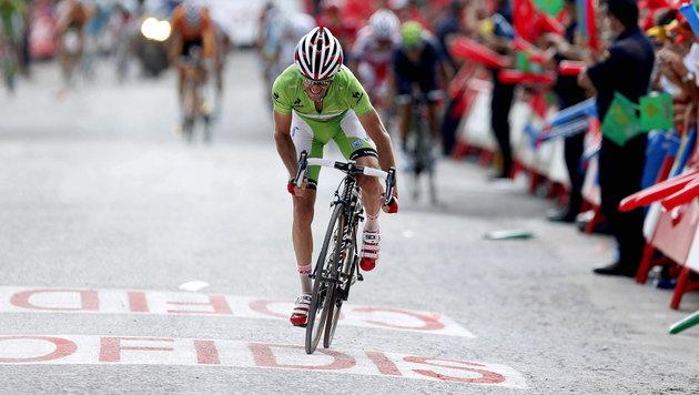 Ö-Tour-Auftakt: Katjuscha gewinnt Teamzeitfahren (Bild: Javier Lizon / EPA / picturedesk.com)