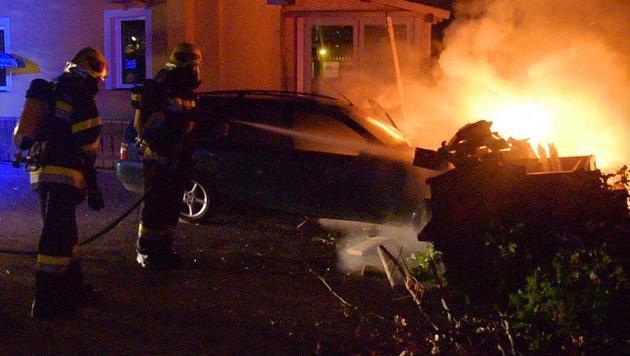 Die Feuerwehr konnte den Brand rasch unter Kontrolle bringen. (Bild: Einsatzdoku.at)