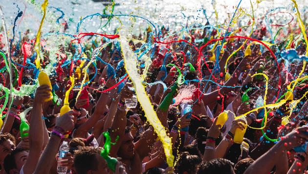 Summer Splash 2015: Das war die Party des Jahres (Bild: Splashline/Sam Colombo/Daniel Scharinger)
