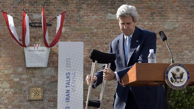 Außenminister John Kerry (Bild: APA/HANS PUNZ)