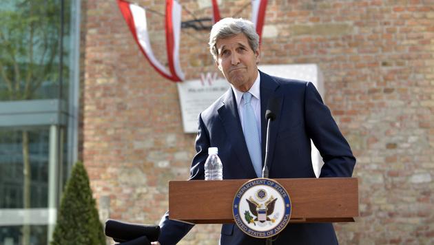 Außenminister John Kerry in Wien (Bild: APA/HANS PUNZ)