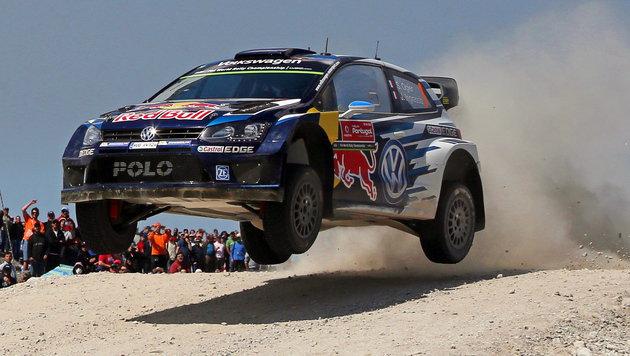 Sebastian Ogier triumphiert bei Polen-Rallye (Bild: APA/EPA/JOSE COELHO)