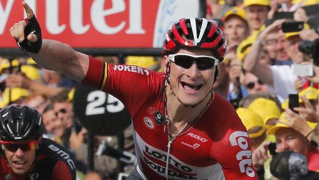 Tour de France: Greipel gewinnt zweite Etappe (Bild: AP)