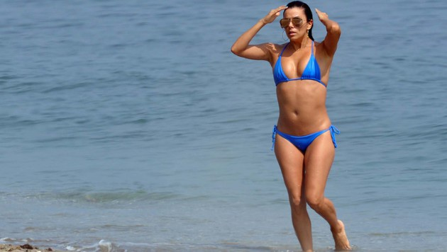 Eva Longoria im sexy Bikini (Bild: Viennareport)