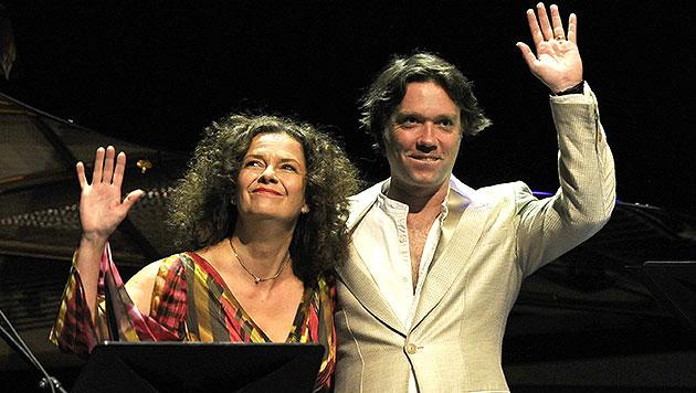 Wainwright und Kirchschlager als Jazzfest-Hit (Bild: APA/HERBERT PFARRHOFER)