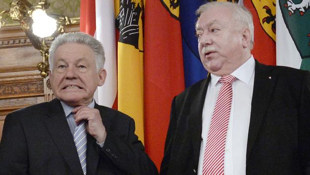 OÖ-Landeshauptmann Pühringer kündigt Rücktritt an (Bild: APA/HANS KLAUS TECHT)