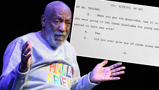 Bill Cosby gab zu, Frauen vor Sex betäubt zu haben (Bild: AP)