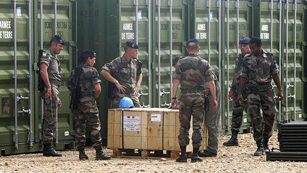 Frankreich: Sprengstoff aus Militärdepot gestohlen (Bild: AFP)