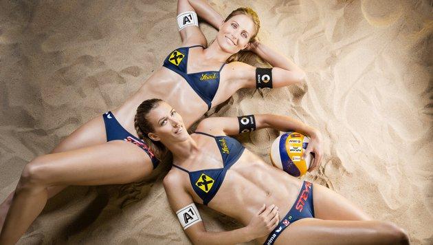 Olympia-Test für Doppler/Horst beim Rio-Grand-Slam (Bild: Miriam Primik)