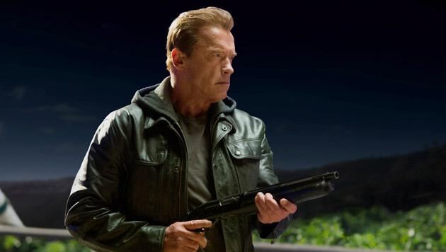 Arnold Schwarzeneggers Sohn mimt den Terminator (Bild: Paramount Pictures)