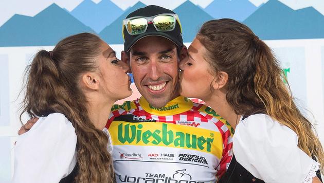 Victor de la Parte gewinnt Dobratsch-Bergankunft (Bild: APA/EPA/EXPA/REINHARD EISENBAUER)
