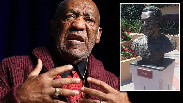 Bill Cosbys Büste hat keinen Ehrenplatz mehr im Disney-Themenpark von Hollywood. (Bild: AP)